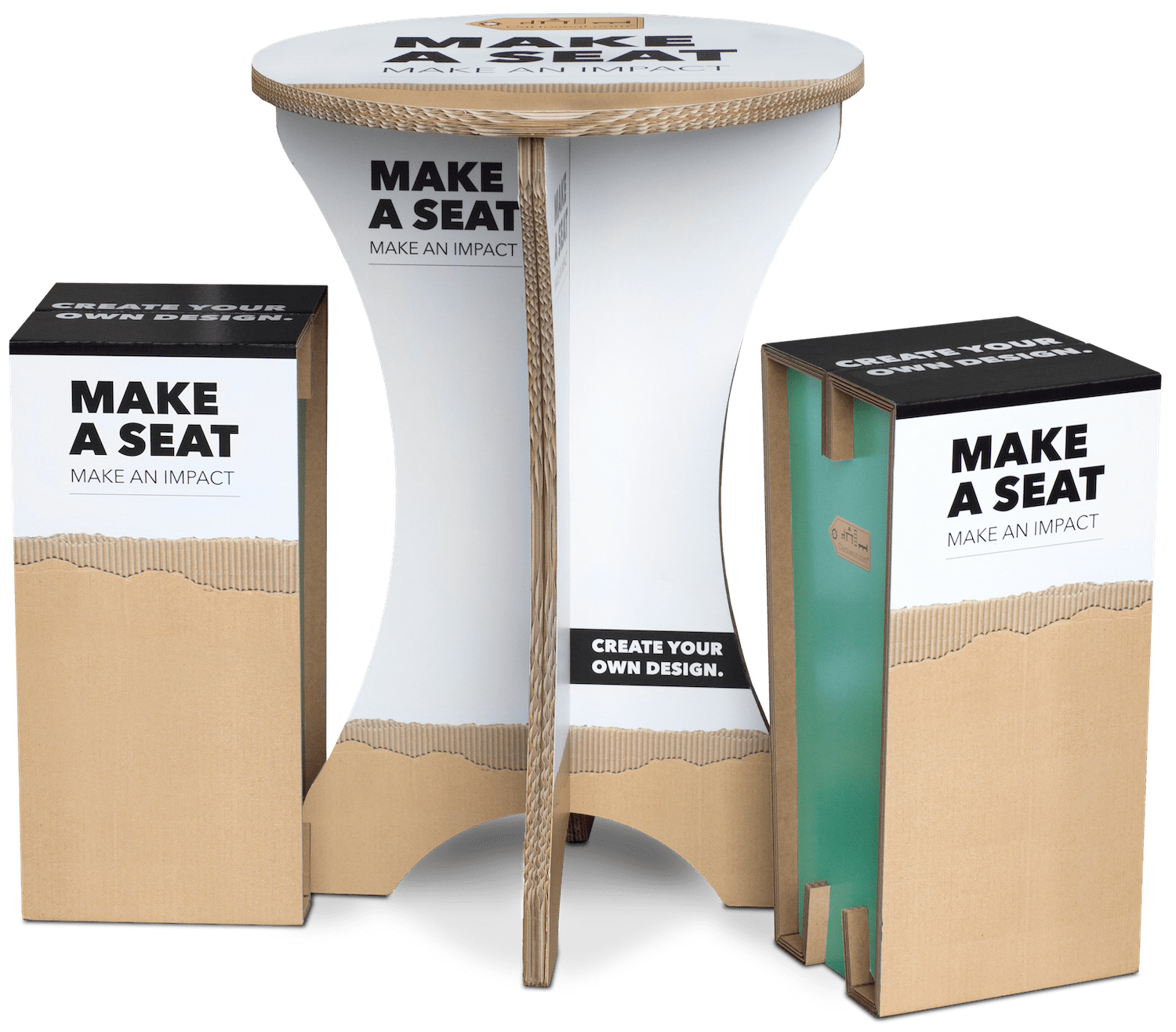 Cartotable met XXL Cartoseat Fold-min